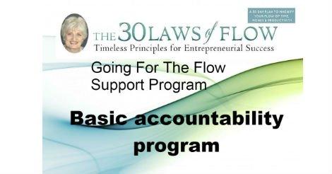 30 Laws of Flow - Basic Accountability Program by Charlene Day