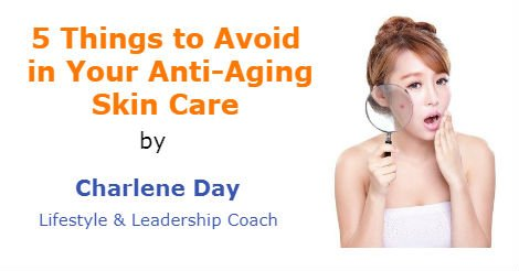 5 Things to Avoid in Your Anti-Aging Skin Care